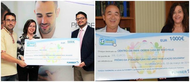 """Ganadoras del concurso """"Publicación Solidaria"""" reciben sus premios"""