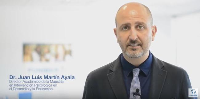 Juan Luis Martín: Formando profesionales para los nuevos entornos educativos