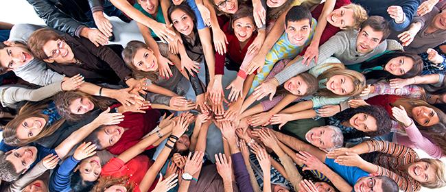 Comparte ideas solidarias para cambiar el mundo