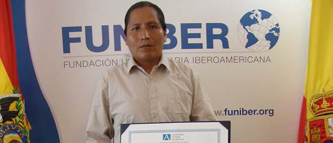 Opinión de Esteban Chacalluca, alumno de la Maestría en Educación de FUNIBER