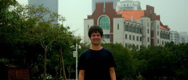 Daniel Bueno, alumno de España becado por FUNIBER