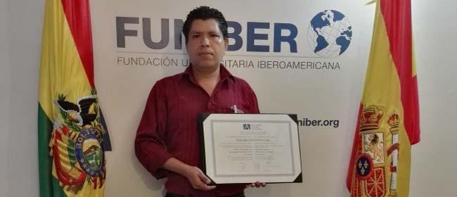 Opinión de Eustaquio David Pinto Soliz, alumno becado de la Especialización en Tecnologías de la Información e-commerce