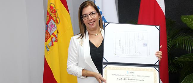 Opinión de Gladys Ponce Medina, alumna becada de la Maestría en Gestión y Auditorías Ambientales