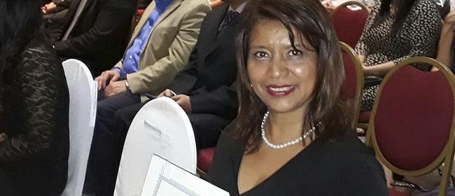 Opiniones FUNIBER: Carlota Palacios, alumna salvadoreña becada por FUNIBER