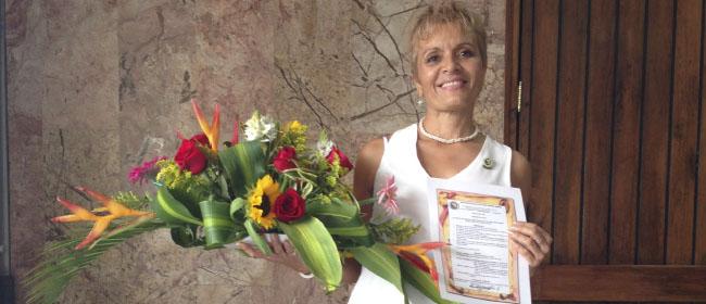 """Opiniones FUNIBER: Victoria Santa, alumna colombiana becada por FUNIBER: """"Mi experiencia con FUNIBER fue muy significativa"""""""