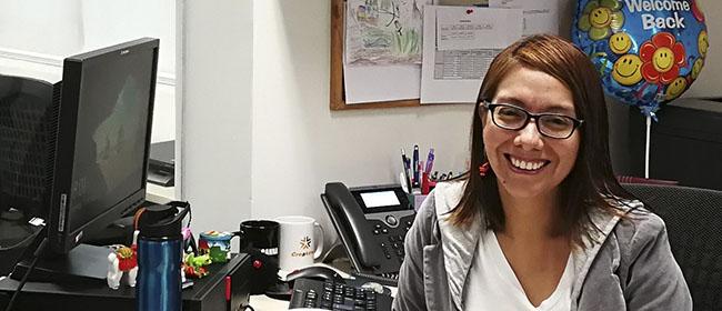 Joanna Chavarría Lolies una alumna originaria de Lima (Perú), que cursó la Maestría en Dirección Estratégica de Marketing,