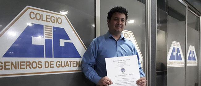 """José de León, alumno guatemalteco becado por FUNIBER: """"Experimenté un desarrollo personal significativo"""""""