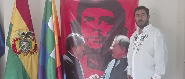 Opinión de José Percy Paredes, alumno becado por FUNIBER y embajador de Bolivia en Nicaragua