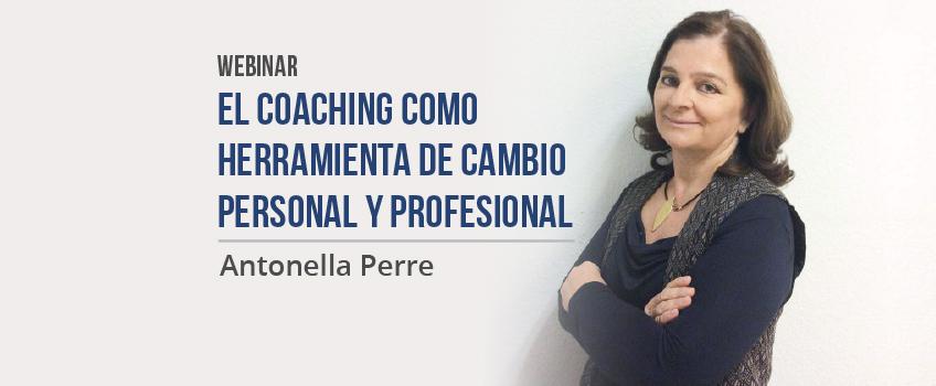 """Éxito de participación en la Webinar """"El Coaching como herramienta de cambio personal y profesional"""""""