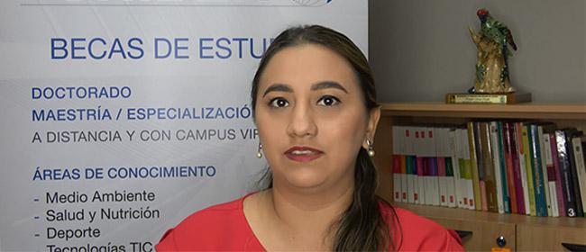 Opinión de Salma Pierina Peralta Moarry, estudiante ecuatoriana becada por FUNIBER