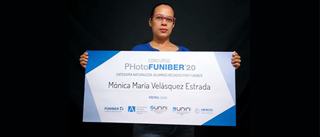 Entrevista a Mónica María Velásquez Estrada, una de las ganadoras del concurso PHotoFUNIBER