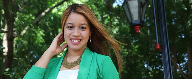 Entrevista a Ariela Antonia Peña Rodríguez, estudiante de República Dominicana becada por FUNIBER