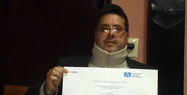 Entrevista a Leandro Daniel Rozada, estudiante argentino becado por FUNIBER